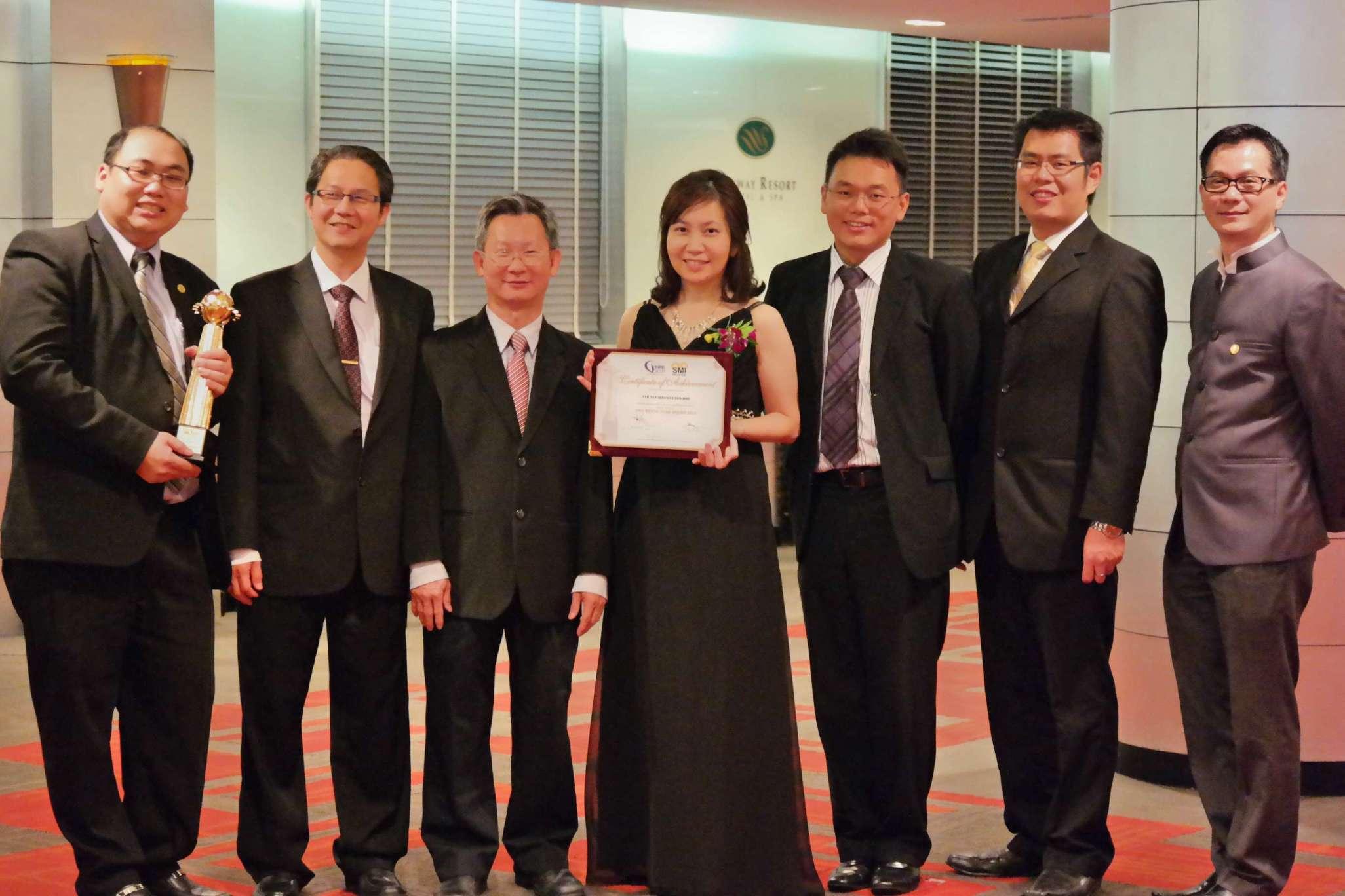 SME AWARD - YYC Tax Services Sdn. Bhd.