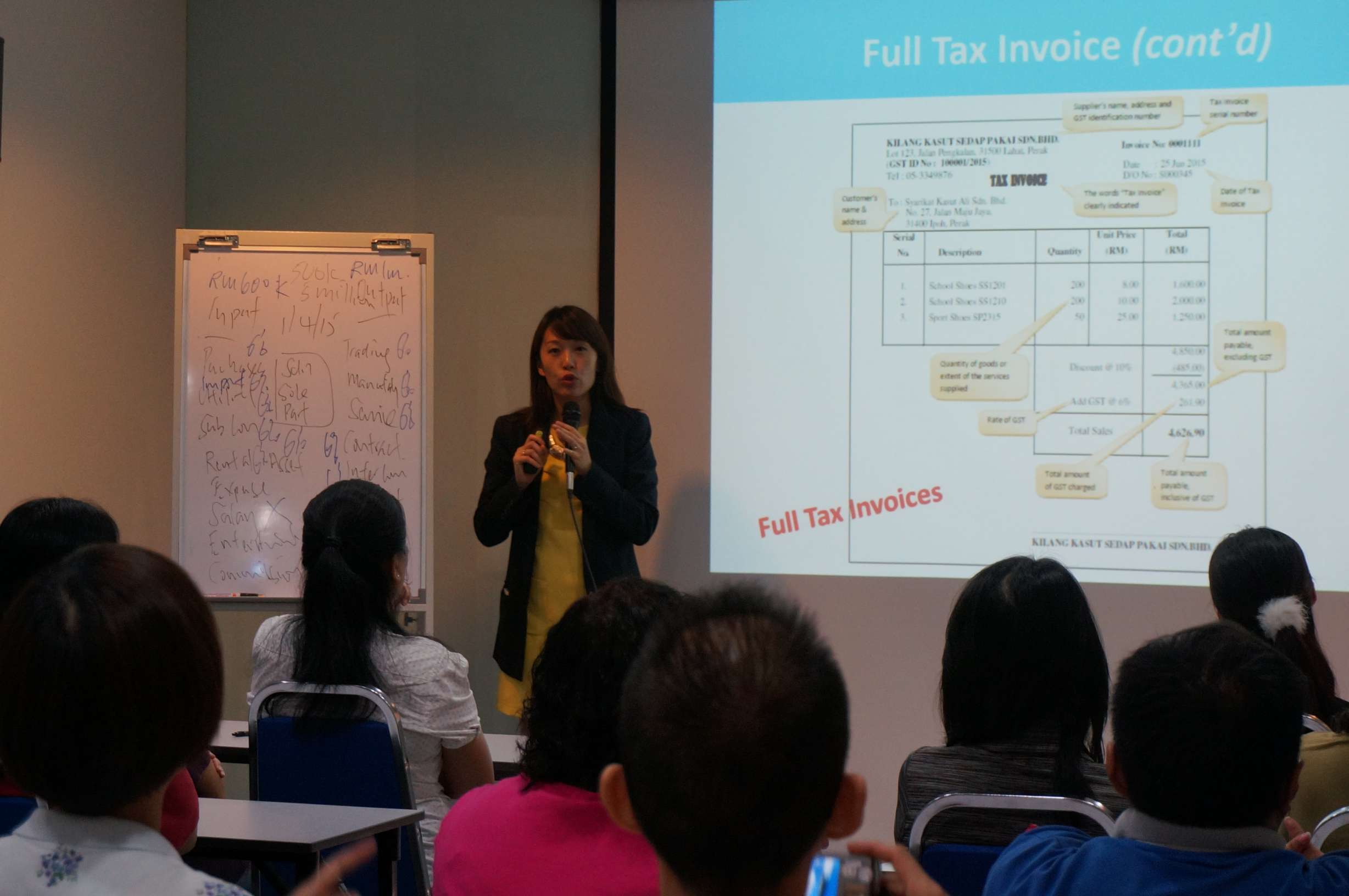 GST Overview Full House - 27 August 2014