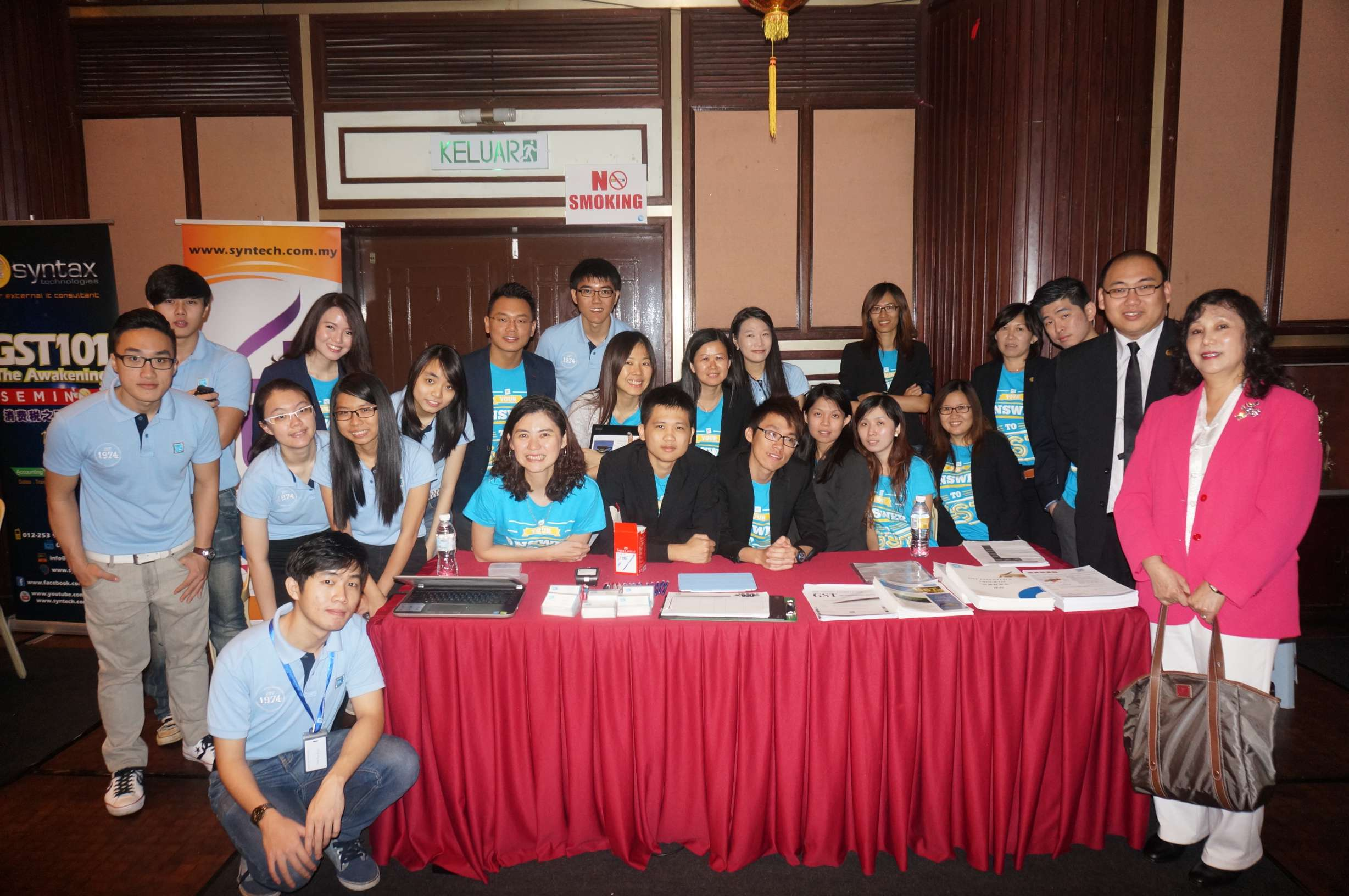 Thean Hou Gong Chine Press GST Event - 24 September 2014