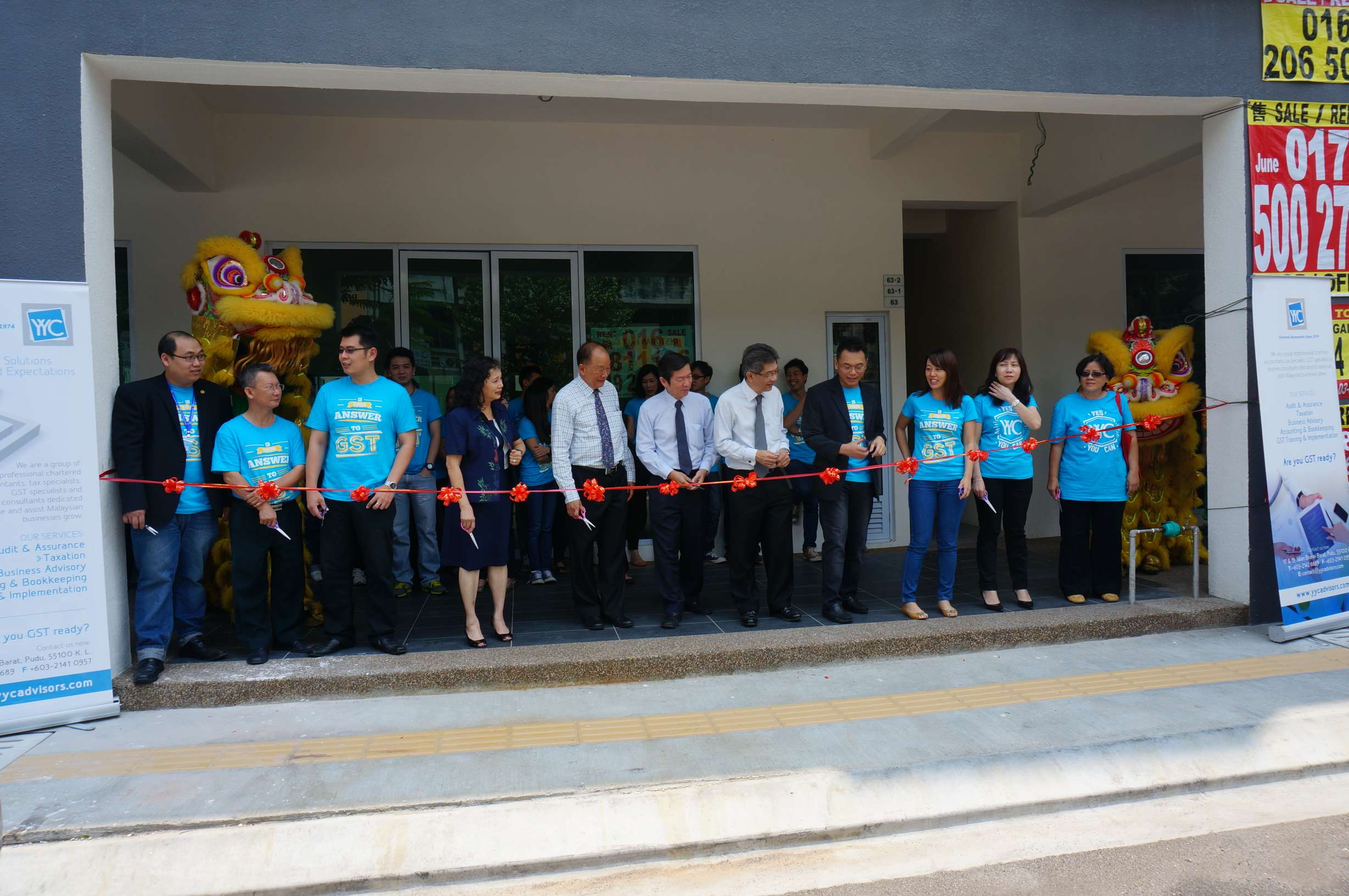 Training Centre Opening Ceremony - 25 September 2014
