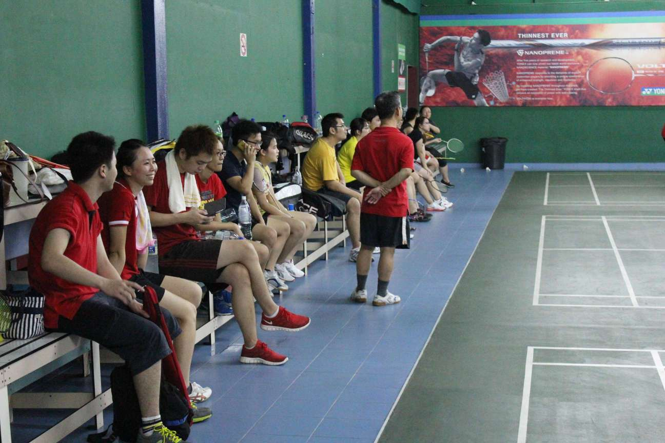 YYC Cup Badminton 2013
