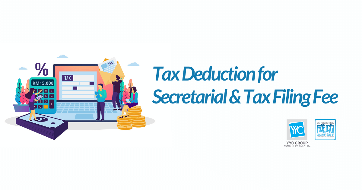 Tax Deduction For Secretarial And Tax Filing Fee
